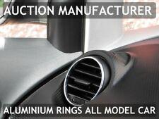 Seat Leon II 2005-2012 Anelli in alluminio lucido alle aperture di ventilazione