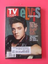 elvis presley TV GUIDE  august 17 - 23, 2002