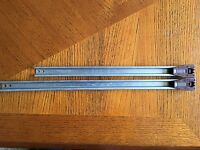 1 x Kenlin Trak metal track (length you need) and stop, with USPS tracking #