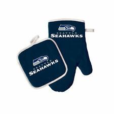 Seattle Seahawks Oven Mitt and Pot Holder Set
