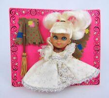 Vintage Mattel Liddle Kiddles Cinderella Cinderiddle - Never Removed from Card!