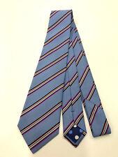 Paul Smith Multi-Rayures Cravate Fait en Italie Très Rare Lame de 8cm