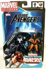 Marvel Universe DARK WOLVERINE & DARK SPIDER-MAN Comic Pack Greatest Battles
