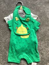 Baby Boy Summer Romper Set, Up To 1 Month, Mothercare, Brand New