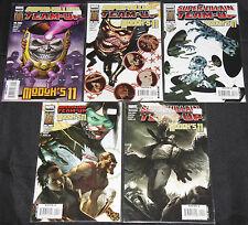Marvel SUPER-VILLAIN TEAM-UP/MODOK'S 11 - 5pc Mid-High Grade Comic Lot VF-NM