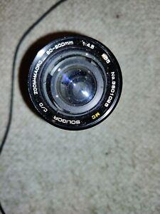MC Soligor C/D Zoom Macro 80-200mm f4.5 for Minolta MD excellent