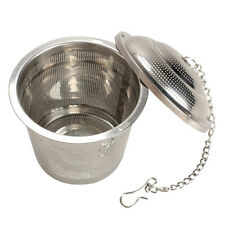 304 Stainless Steel Tea Mesh Herbal Ball Infuser Tea Strainer Large Size 6.5cm