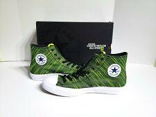 best loved 2aca5 62f9b Converse Chuck Taylor All Star 2 Hi Black Volt Green 151086C Mens Size 10