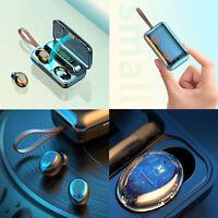 Oreillette sans fil sport écouteur TWS Bluetooth casque 5.0 annulation bruit