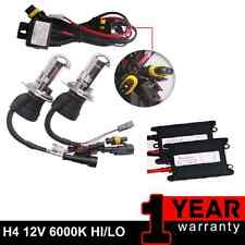 NISSAN PATROL GU GQ HID HEAD LIGHT UPGRADE 55W HID CONVERSION KIT HIGH LOW BEAM