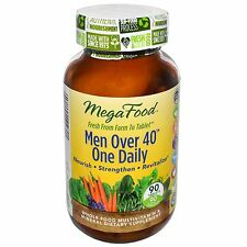 MegaFood Men Over 40 One Daily 90 tabs - FREE FAST SHIPPING