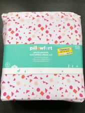 NEW with tags  Party Parade Sheet Set (Full) Pink - Pillowfort Microfiber