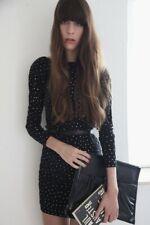 Jimmy Choo for H&M Rhinestone Low Cut Dress BNWT Size XS