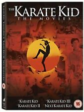 The Karate kid 1+2+3+4 Collection New DVD Region 4