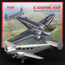 ICM 1/48 BEECHCRAFT C-45F USAAF EXPIDITER /UC45 US NAVY NAVIGATOR KIT
