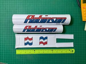 robinson USA repop Bmx padset (white)