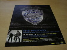 THE PRODIGY - THE SINGLES!!!!!!!!!!!FRENCH PRESS ADVERT
