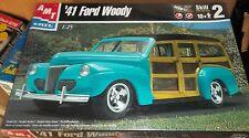 AMT Ertl 1941 FORD WOODY CUSTOM Model Car Mountain KIT FS
