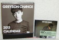 Greyson Chance Truth Be Told part 1 Taiwan Ltd CD + 2013-year desk calendar