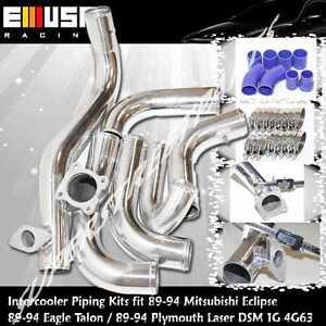 Intercooler Piping Kit fit 90-94Eagle Talon TSi Hatchback 3D 2.0 DSM 1G 4G63