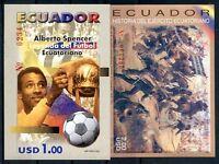 ECUADOR Yvert # Bl 103 + 131, MNH, VF
