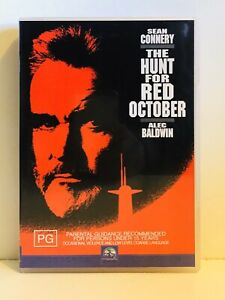 The Hunt For Red October DVD - PAL Region 4 - Sean Connery & Alec Baldwin - PG