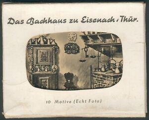 """Eisenach Bilderset von Gebr. Garloff 1959 """"Das Bachhaus"""" komplett, I/II"""