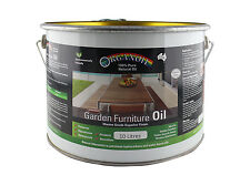 Organoil Garden Furniture Oil & External Oil CLEAR 10 litre