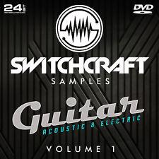 GUITAR VOL 1 - 24BIT WAV STUDIO / MUSIC PRODUCTION SAMPLES - DVD