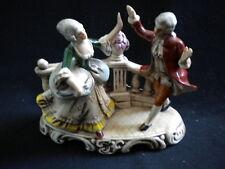 Sujet en porcelaine de Saxe