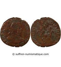 HENRI III - DOUBLE TOURNOIS 1579 A PARIS