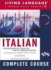 Italian Complete Course: Basic-Intermediate, Compact Disc Edition LLR Complet