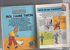 Revue TINTIN. J'AIME LIRE n°128 avec partie : Moi, j'aime Tintin. 1987. TBE