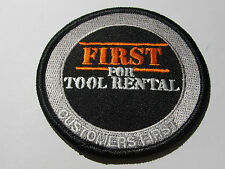 home depot  first for tool rental patch