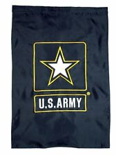 """Us Army 28x40 Embroidered Flag United States Army 2 double sided Banner 28""""x40"""""""