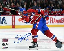 Shea Weber Montreal Canadiens Signed Autographed Home Action Shot 8x10 PF H