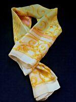 Vintage Pierre Cardin Silk Scarf 100% Silk