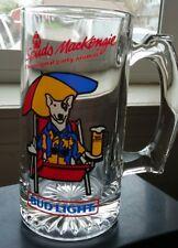 1987 Budweiser Spuds Mackenzie glass beer mug party animal cup stein