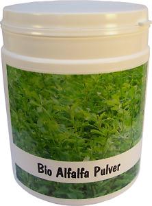 SANOS  Bio Alfalfa Pulver 250g aus eigenem Anbau frisch v. Bodensee
