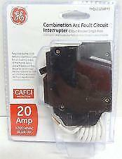 GE THQL1120AFP2  20A COMBINATION ARC-FAULT CIRCUIT BREAKER NEW IN PACKAGE