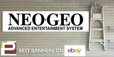 Neo geo bannière pour garage atelier ou man cave vintage jeux bannière