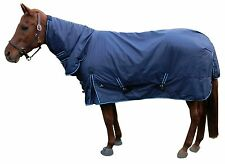 New! Waterproof Turnout Horse Blanket W/Neck Cover 76""