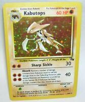 Rare Holo Pokemon Card Kabutops  9/62 1999 Wizards