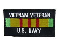 U.S. Military Vietnam Veteran Vet Navy Flag Wholesale lot of 6 Iron On Patch