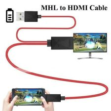 Micro USB 3.0 to HDMI Adapter Cable For Samsung N7100/Note3/S5 -White