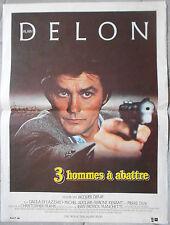 Affiche 3 HOMMES A ABATTRE Michel Auclair ALAIN DELON Jacques Deray 40x60cm