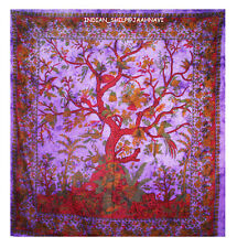 Tree of Life Wall Hanging Double Tapestries Indian Bedspread Throw Ethnic Decor
