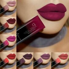 Waterproof Liquid Lip Gloss Metallic Matte Tint Lipstick Makeup Lasting 24Hours