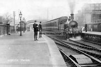 pt0092 - Guiseley Railway Station , Yorkshire - photo 6x4