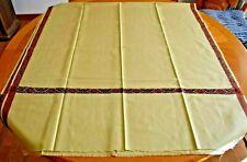 """Kashmiri Wool Wrap/Shawl ~ Beige / Burgundy Color 80"""" x 36"""" ~ Kunal Textiles"""